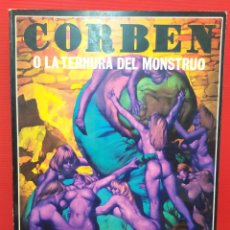 Cómics: ANTIGUO COMIC TOMO OBRAS COMPLETAS LA TERNURA DEL MONSTRUO DEL MAESTRO RICHARD CORBEN TOUTAIN. Lote 253714850