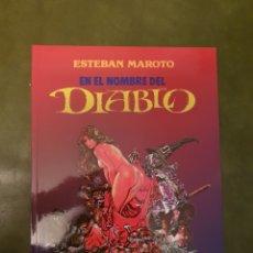 Cómics: EN EL NOMBRE DEL DIABLO - ESTEBAN MAROTO. Lote 254073095