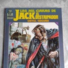 Cómics: COMIC: LAS MIL CARAS DE JACK EL DESTRIPADOR DE ORTIZ Y SEGURA - JOYAS DE CREEPY. Lote 254097690