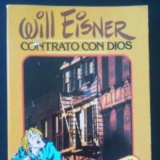Cómics: WILL EISNER CONTRATO CON DIOS. Lote 254272300