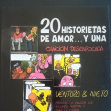 Cómics: 20 HISTORIETAS DE AMOR Y UNA CANCION DESENFOCADA. Lote 254318895