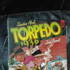 Cómics: TORPEDO 1936 Nº 2 ( SANCHEZ ABULI-JORDI BERNET ) TOUTAIN EDITOR. Lote 254355525