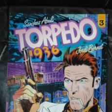 Cómics: TORPEDO 1936 Nº 3 ( SANCHEZ ABULI-JORDI BERNET ) TOUTAIN EDITOR. Lote 254355885