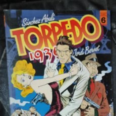 Cómics: TORPEDO 1936 Nº 6 ( SANCHEZ ABULI-JORDI BERNET ) TOUTAIN EDITOR. Lote 254356690