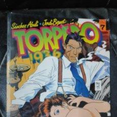 Cómics: TORPEDO 1936 Nº 7 ( SANCHEZ ABULI-JORDI BERNET ) TOUTAIN EDITOR. Lote 254357100