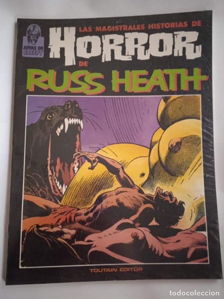 LAS MAGISTRALES HISTORIAS DE HORROR DE RUSS HEATH-TOUTAIN (Tebeos y Comics - Toutain - Creepy)