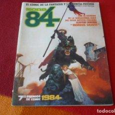 Cómics: ZONA 84 Nº 22 ( WINDSOR SMITH GIMENEZ ALTUNA ) TOUTAIN EL COMIC DE LA FANTASIA Y LA CIENCIA FICCION. Lote 254683835