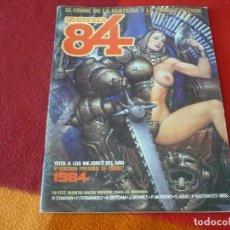 Cómics: ZONA 84 Nº 32 ( CHAYKIN ABULI BERNET ) TOUTAIN EL COMIC DE LA FANTASIA Y LA CIENCIA FICCION. Lote 254684450