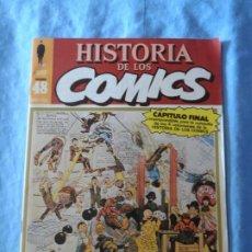 Cómics: HISTORIA DE LOS COMICS Nº 48 DE TOUTAIN ULTIMA NUMERO. Lote 254737700