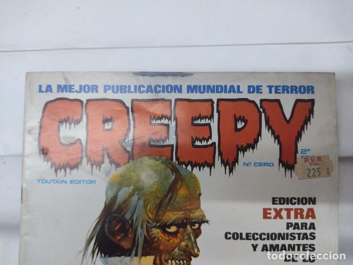 Cómics: LOTE DE 6 TEBEOS CREEPY NUMEROS 0,10,14,17,21,24, - Foto 7 - 254759645