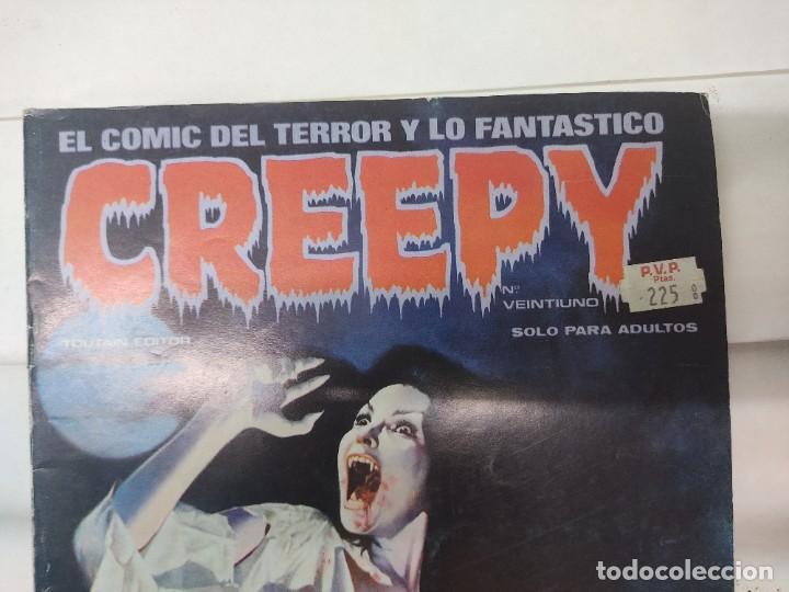 Cómics: LOTE DE 6 TEBEOS CREEPY NUMEROS 0,10,14,17,21,24, - Foto 10 - 254759645