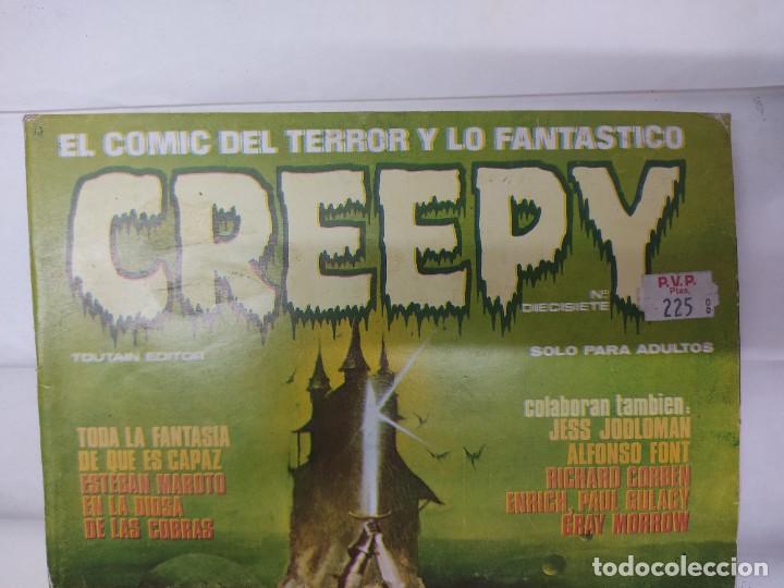 Cómics: LOTE DE 6 TEBEOS CREEPY NUMEROS 0,10,14,17,21,24, - Foto 13 - 254759645