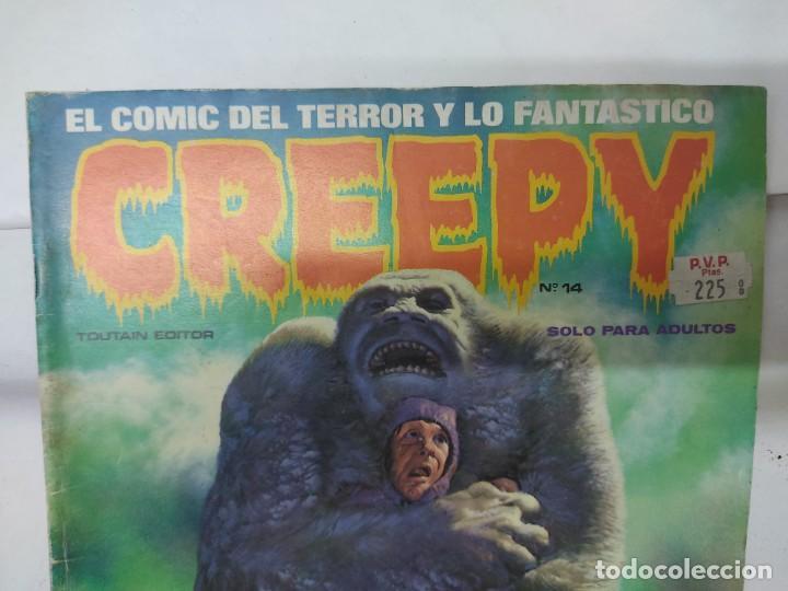 Cómics: LOTE DE 6 TEBEOS CREEPY NUMEROS 0,10,14,17,21,24, - Foto 16 - 254759645
