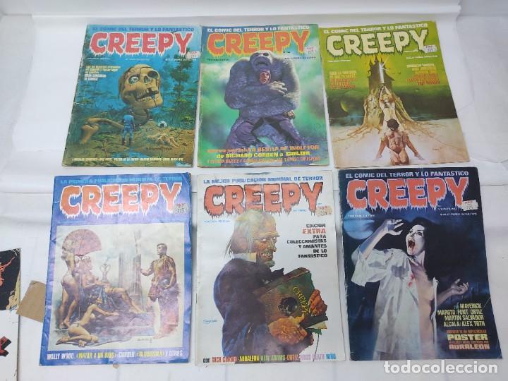 Cómics: LOTE DE 6 TEBEOS CREEPY NUMEROS 0,10,14,17,21,24, - Foto 21 - 254759645