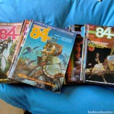 Cómics: LOTE 34 COMIC ZONA84.N° DEL 1 AL 28 INCLUSIVE. 35-39-41-42-55-58.. Lote 254951630