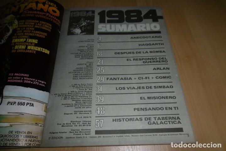 Cómics: Comic 1984 EXTRA Nº 2 TOUTAIN - Foto 3 - 254989210