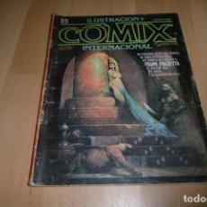 Cómics: COMIC COMIX ILUSTRACIÓN+ INTERNACIONAL Nº 15 TOUTAIN. Lote 254992420