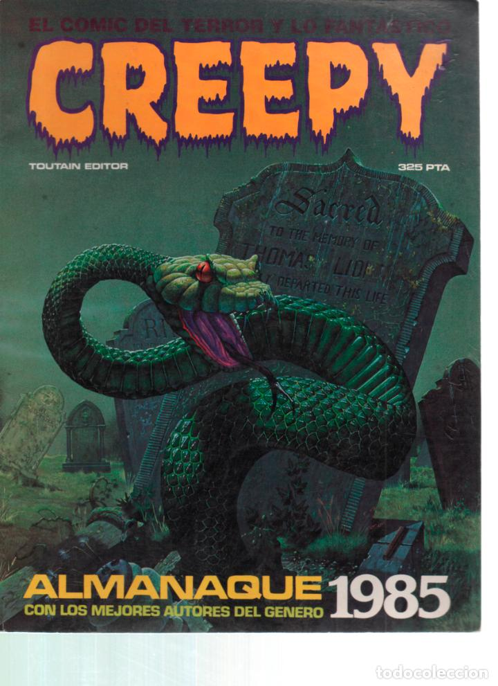 CREEPY ALMANAQUE 1985. TOUTAIN EDITOR. (Tebeos y Comics - Toutain - Creepy)