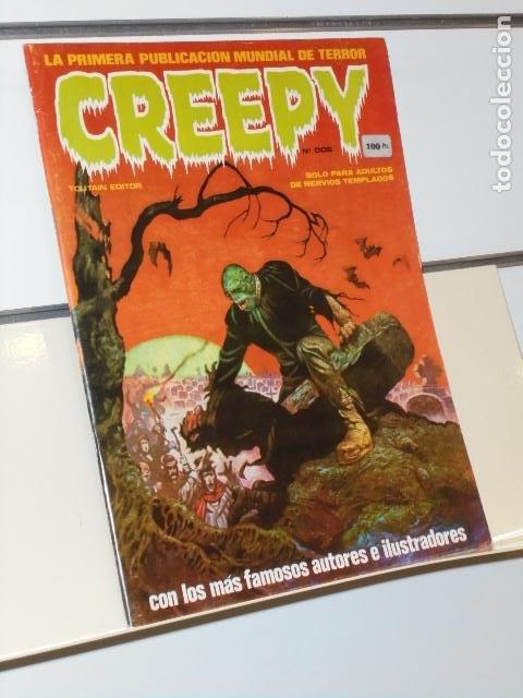 CREEPY Nº 2 EL COMIC DEL TERROR Y LO FANTASTICO - TOUTAIN (Tebeos y Comics - Toutain - Creepy)