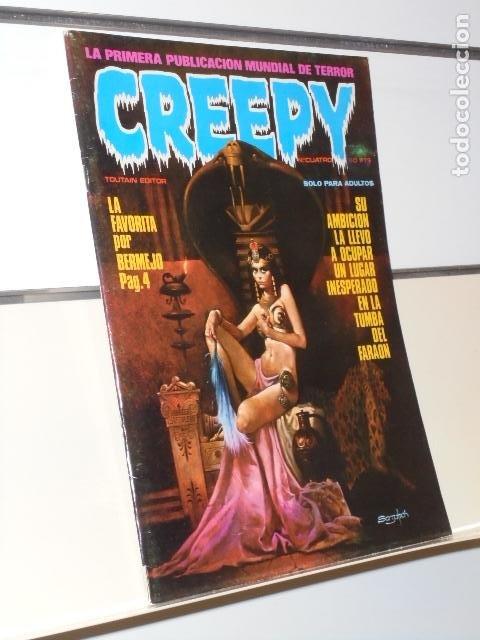 CREEPY Nº 4 EL COMIC DEL TERROR Y LO FANTASTICO - TOUTAIN (Tebeos y Comics - Toutain - Creepy)