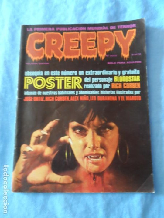 CREEPY Nº 12 DOCE EDITORIAL TOUTAIN (Tebeos y Comics - Toutain - Creepy)