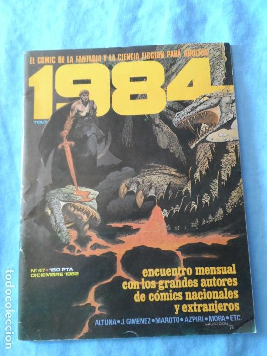1984 Nº 47 EDITORIAL TOUTAIN (Tebeos y Comics - Toutain - 1984)