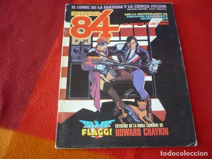 ZONA 84 Nº 31 ( CHAYKIN BEROY ) TOUTAIN EL COMIC DE LA FANTASIA Y LA CIENCIA FICCION (Tebeos y Comics - Toutain - Zona 84)