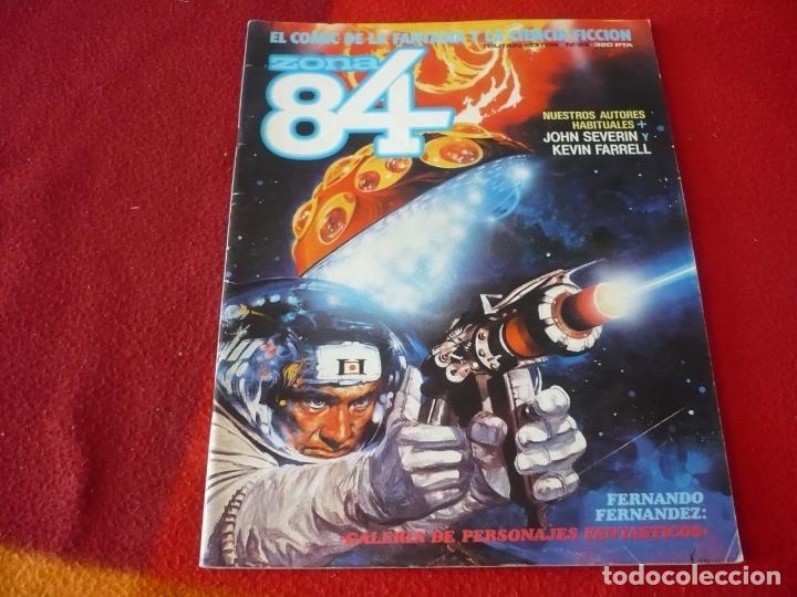 ZONA 84 Nº 33 ( SEVERIN FARELL CHAYKIN ) TOUTAIN EL COMIC DE LA FANTASIA Y LA CIENCIA FICCION (Tebeos y Comics - Toutain - Zona 84)