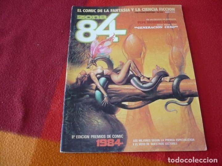 ZONA 84 Nº 34 ( BEROY CHAYKIN ) TOUTAIN EL COMIC DE LA FANTASIA Y LA CIENCIA FICCION (Tebeos y Comics - Toutain - Zona 84)