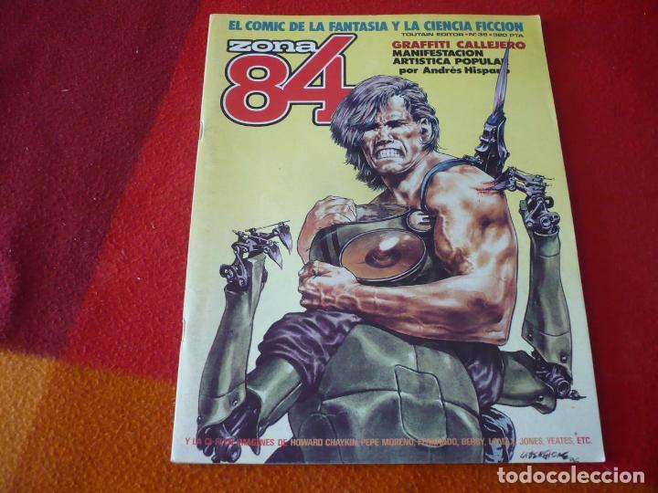 ZONA 84 Nº 35 ( BEROY CHAYKIN LOMAX ) TOUTAIN EL COMIC DE LA FANTASIA Y LA CIENCIA FICCION (Tebeos y Comics - Toutain - Zona 84)
