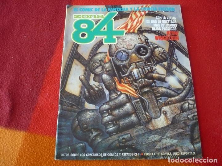 ZONA 84 Nº 41 ( BEROY WRIGHTSON ) TOUTAIN EL COMIC DE LA FANTASIA Y LA CIENCIA FICCION (Tebeos y Comics - Toutain - Zona 84)