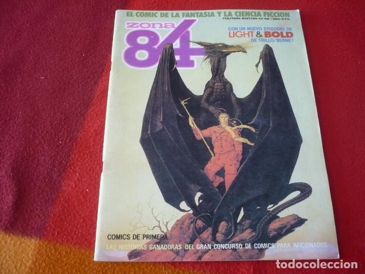 ZONA 84 Nº 42 ( TRILLO BERNET SEGURA ) TOUTAIN EL COMIC DE LA FANTASIA Y LA CIENCIA FICCION (Tebeos y Comics - Toutain - Zona 84)
