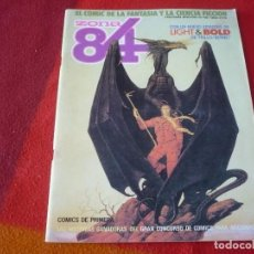 Cómics: ZONA 84 Nº 42 ( TRILLO BERNET SEGURA ) TOUTAIN EL COMIC DE LA FANTASIA Y LA CIENCIA FICCION. Lote 255483305