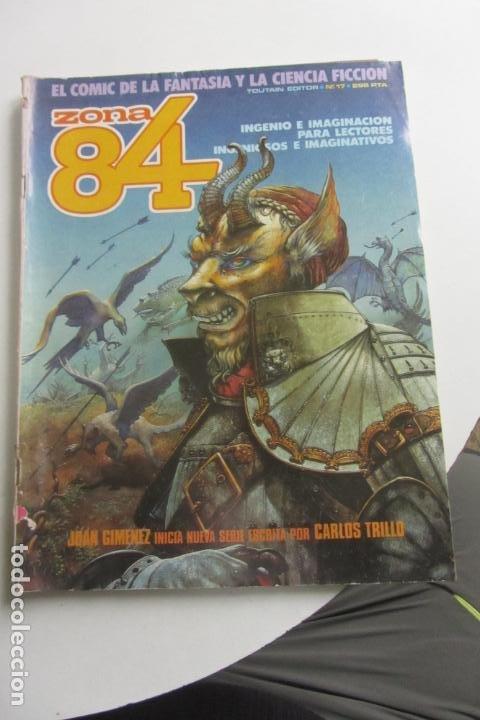 ZONA 84 Nº 17 - TOUTAIN E2 (Tebeos y Comics - Toutain - Zona 84)
