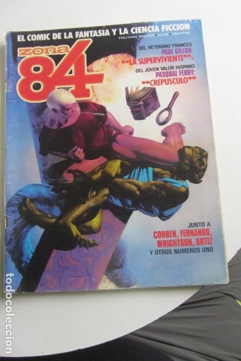 ZONA 84 Nº 52 CORBEN WRIGHTSON - TOUTAIN E2 (Tebeos y Comics - Toutain - Zona 84)