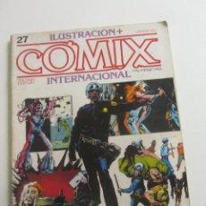 Cómics: COMIX INTERNACIONAL. Nº 27 NEAL ADAMS CORBEN WRIGHTSON - TOUTAIN E2. Lote 255495015