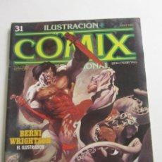 Cómics: COMIX INTERNACIONAL. Nº 31 EISNER GIMENEZ WRIGHTSON - TOUTAIN E2. Lote 255495295