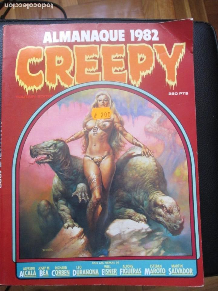 CREEEPY. ALMANAQUE 1982 (Tebeos y Comics - Toutain - Creepy)