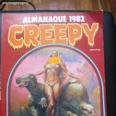 Cómics: CREEEPY. ALMANAQUE 1982. Lote 255515200