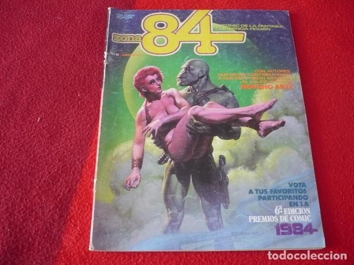 ZONA 84 Nº 6 ( TRILLO FRANK THORNE NEGRETE ) TOUTAIN EL COMIC DE LA FANTASIA Y LA CIENCIA FICCION (Tebeos y Comics - Toutain - Zona 84)