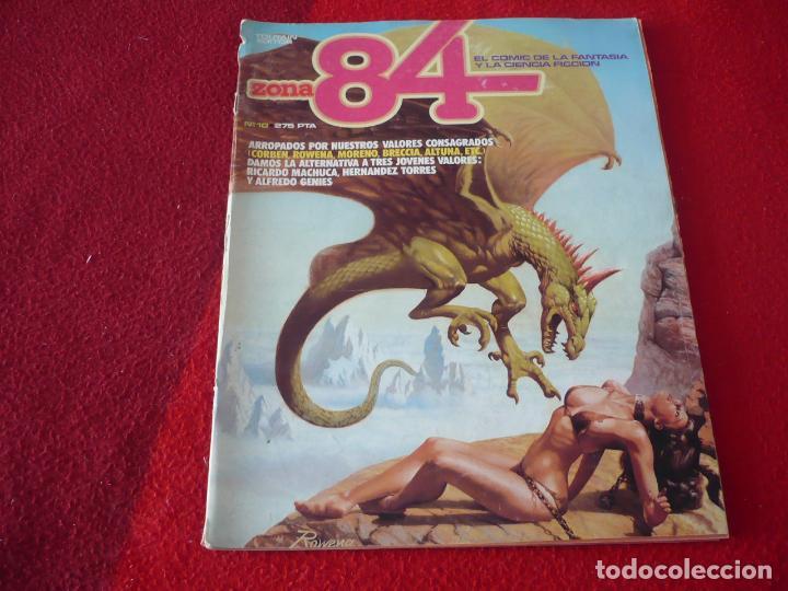 ZONA 84 Nº 10 ( CORBEN BRECCIA ALTUNA ) TOUTAIN EL COMIC DE LA FANTASIA Y LA CIENCIA FICCION (Tebeos y Comics - Toutain - Zona 84)