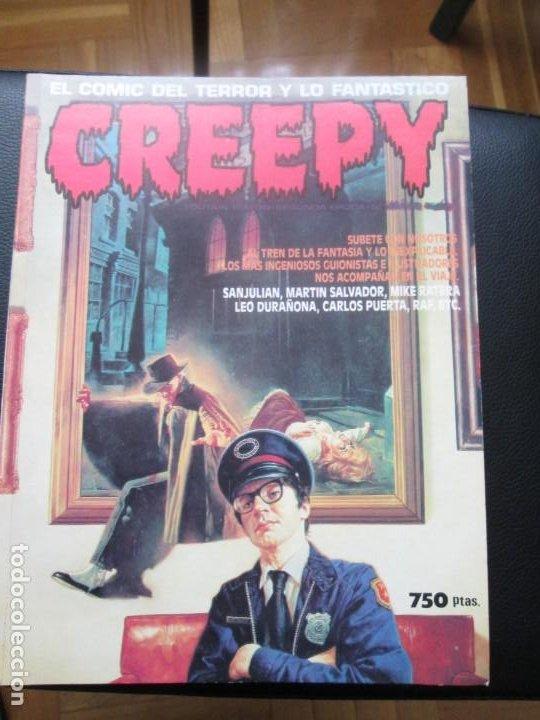 CREEPY SEGUNDA ÉPOCA. RETAPADO CON NÚMEROS 13, 14 ,15 (Tebeos y Comics - Toutain - Creepy)