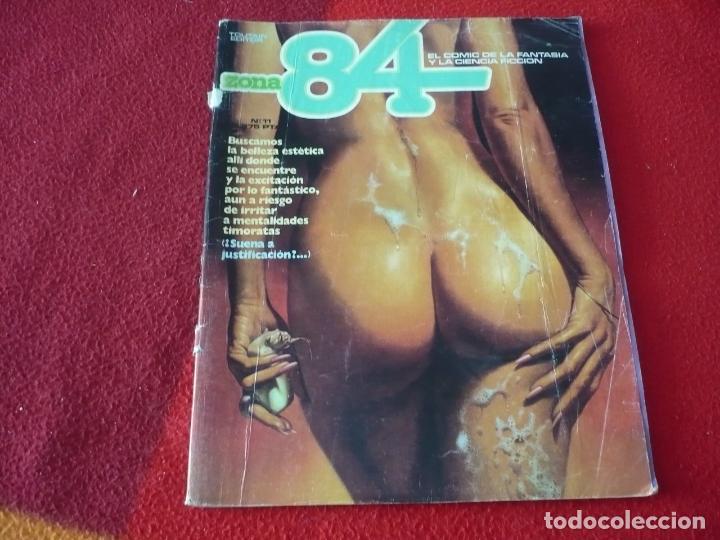 ZONA 84 Nº 11 ( MORA BERMEJO BRECCIA ALTUNA ) TOUTAIN EL COMIC DE LA FANTASIA Y LA CIENCIA FICCION (Tebeos y Comics - Toutain - Zona 84)