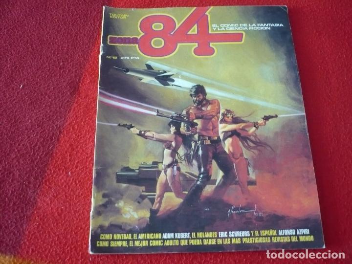 ZONA 84 Nº 12 ( CORBEN BRECCIA ALTUNA ) TOUTAIN EL COMIC DE LA FANTASIA Y LA CIENCIA FICCION (Tebeos y Comics - Toutain - Zona 84)