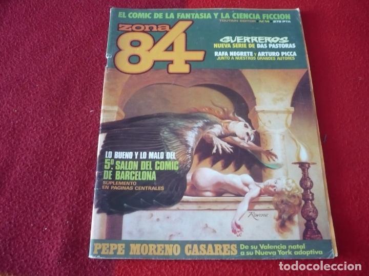 ZONA 84 Nº 14 ( DAS PASTORAS TRILLO BERNET ) TOUTAIN EL COMIC DE LA FANTASIA Y LA CIENCIA FICCION (Tebeos y Comics - Toutain - Zona 84)