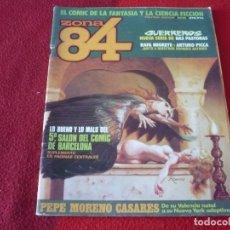 Cómics: ZONA 84 Nº 14 ( DAS PASTORAS TRILLO BERNET ) TOUTAIN EL COMIC DE LA FANTASIA Y LA CIENCIA FICCION. Lote 255994740