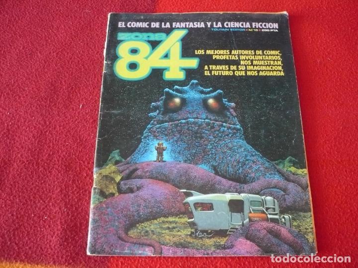 ZONA 84 Nº 15 ( DAS PASTORAS TRILLO BERNET ) TOUTAIN EL COMIC DE LA FANTASIA Y LA CIENCIA FICCION (Tebeos y Comics - Toutain - Zona 84)