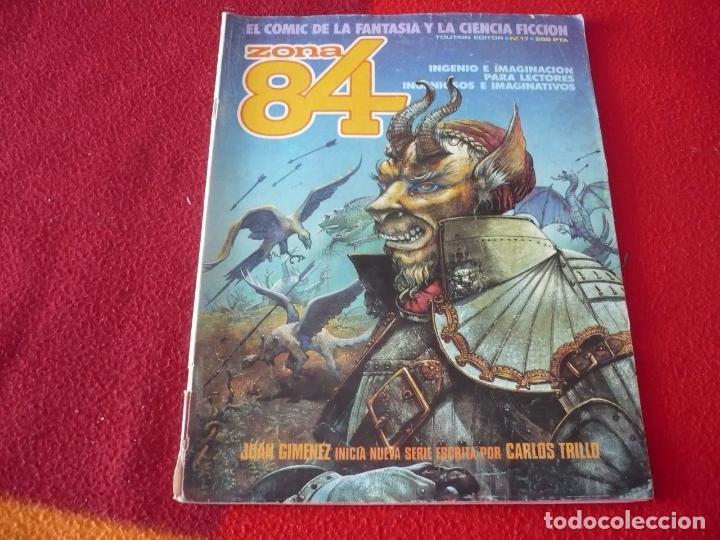 ZONA 84 Nº 17 ( DAS PASTORAS CORBEN GIMENEZ ) TOUTAIN EL COMIC DE LA FANTASIA Y LA CIENCIA FICCION (Tebeos y Comics - Toutain - Zona 84)