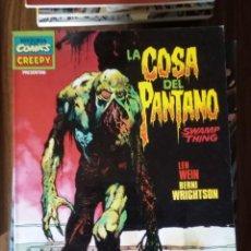 Cómics: LA COSA DEL PANTANO (SWAMP THING) - LEN WEIN / BERNIE WRIGHTSON. Lote 256060640
