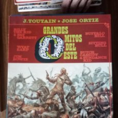 Cómics: GRANDES MITOS DEL OESTE - J. TOUTAIN / JOSÉ ORTIZ. Lote 256061180